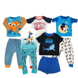 Baby Boy Pajama Lot Size 18 -24 Months